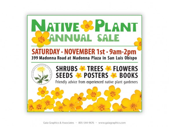 CALIFORNIA NATIVE PLANT SOCIETY ~ San Luis Obispo Chapter ~ 3.5