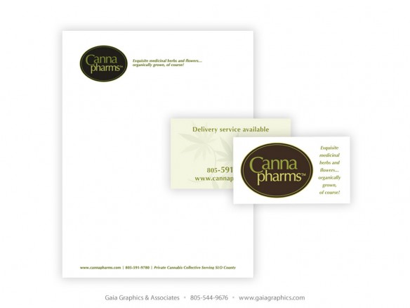 CANNAPHARMS ~ Business Cards and Letterhead