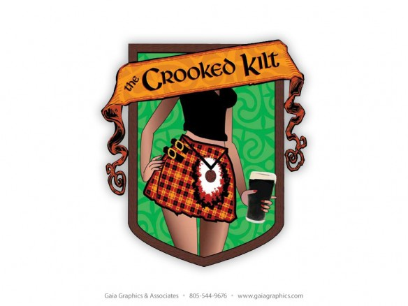 CROOKED KILT PUB & GRILL ~ Paso Robles