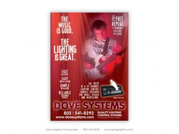 DOVE LIGHTING SYSTEMS ~ San Luis Obispo ~ 3.5