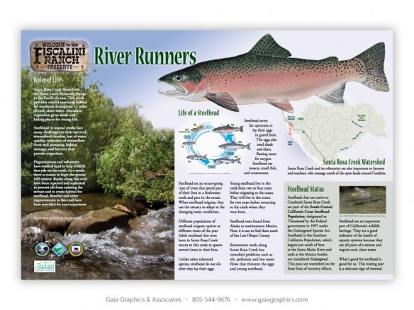 THE LAND CONSERVANCY OF SAN LUIS OBISPO COUNTY ~ Santa Rosa Creek Trail ~ 36