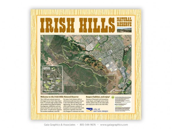 CITY of SAN LUIS OBISPO ~ Irish Hills Open Space Trails ~ 42