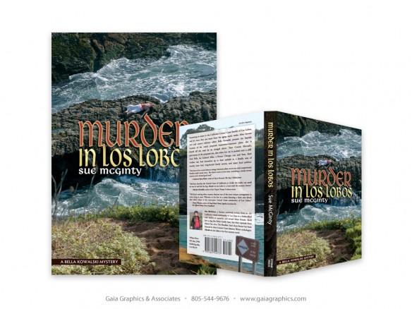 SUE MC GINTY ~ Murder in Los Lobos Book Cover