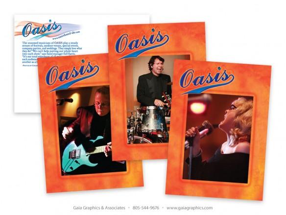 OASIS BAND SLO ~ Postcard Series ~ 4