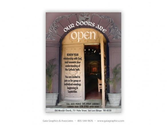 OLD MISSION CHURCH ~ San Luis Obispo ~ 3.75