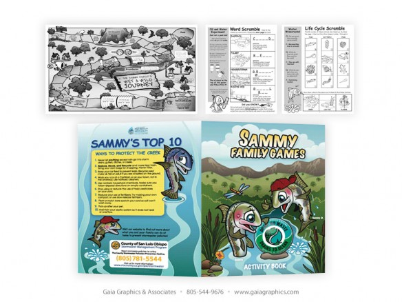 COUNTY OF SAN LUIS OBISPO ~ Activity Book ~ 8.5