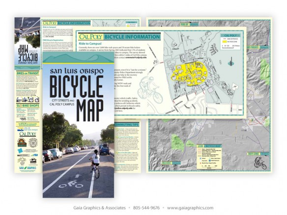 SAN LUIS OBISPO COUNTY BICYCLE COALITION ~ Bike Map & Guide ~ 18