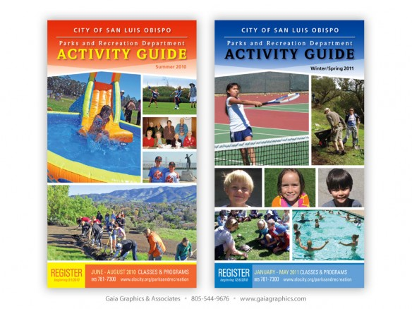 CITY of SAN LUIS OBISPO ~ Parks & Recreation Activity Guide ~ 6