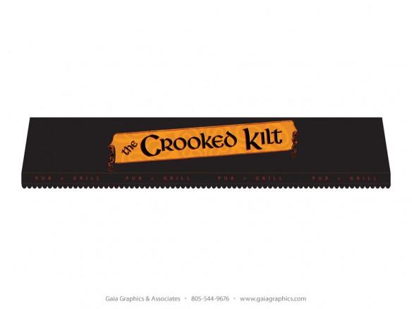 CROOKED KILT PUB & GRILL ~ Awning ~ 40' x 6'