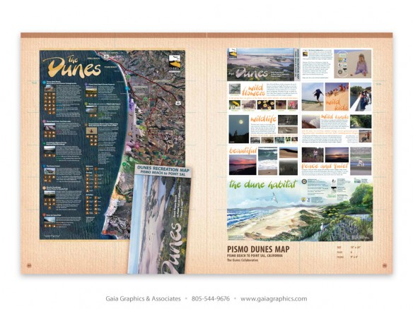 PISMO DUNES MAP ~ Dunes Collaborative, Guadalupe Dunes, California (pp 50-51)