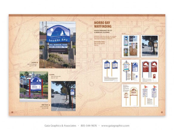WAYFINDING SIGNS ~ City of Morro Bay, California (pp 44-45)