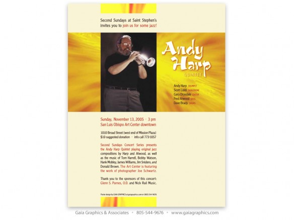 JENNIFER SAYRE ~ Concerts at St. Stephens ~ Andy Harp on Trumpet