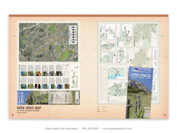 OPEN SPACE MAP ~ City of San Luis Obispo Natural Resources greenbelt (pp 6-7)