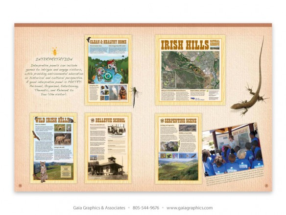OPEN SPACE ~ City of San Luis Obispo Natural Resources, interpretive panels (pp 6-7)