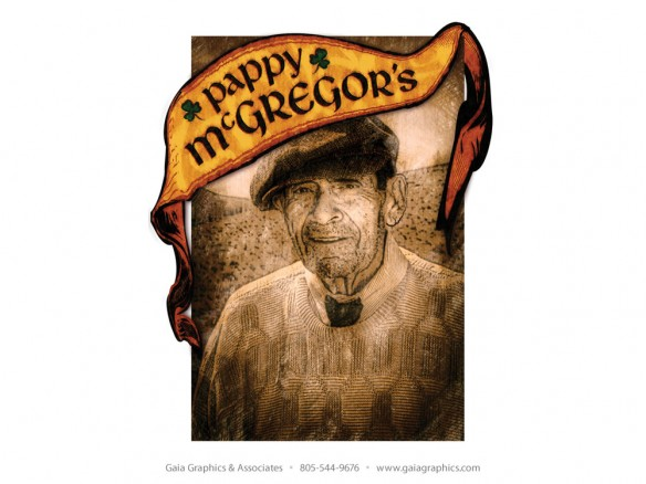 PAPPY McGREGOR'S PUB & GRILL ~ This is Robert, grandfather of the owners of Pappy McGregor's Pub & Grill.