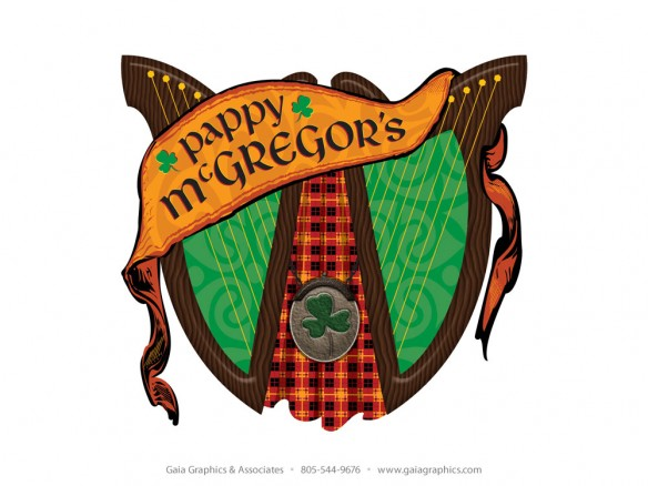 PAPPY McGREGOR'S PUB & GRILL ~ formerly The Kilt (Crooked Kilt in Paso Robles).