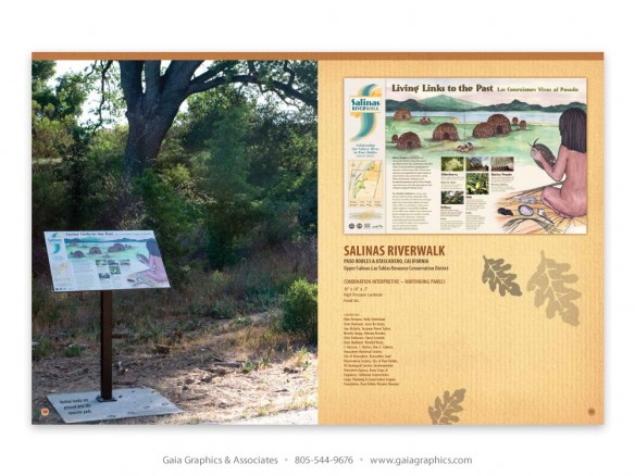 SALINAS RIVERWALK ~ Atascadero, Paso Robles, California (pp 34-35)